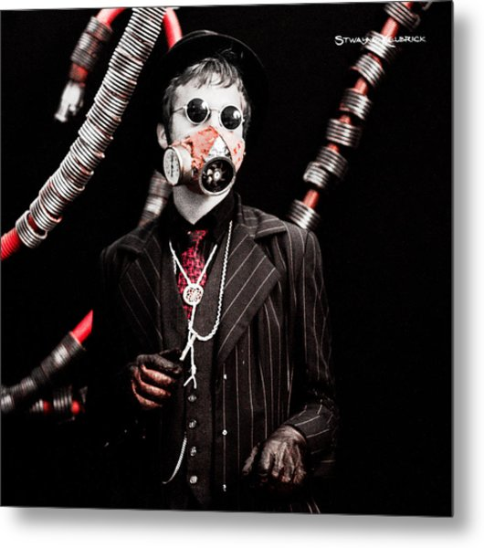The Time Tentacles Killer Metal Print