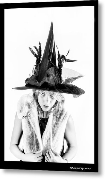 The Tiny Witch Metal Print