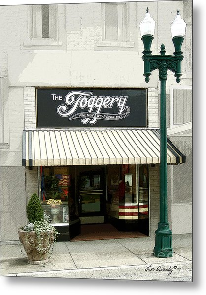 The Toggery Metal Print