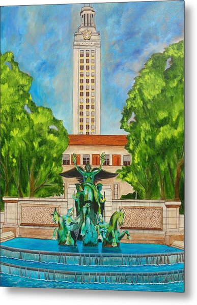 The Tower - Austin Texas Metal Print