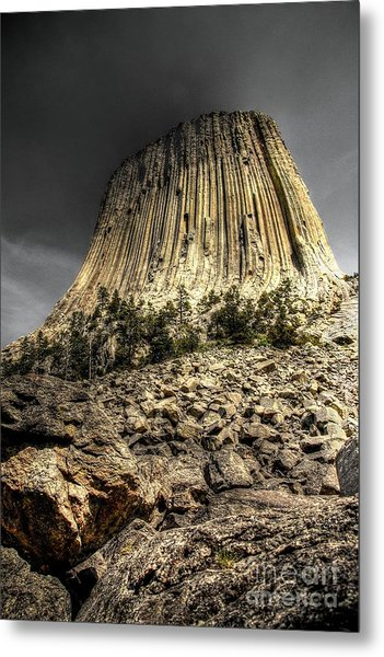 The Tower Of Boulders Metal Print