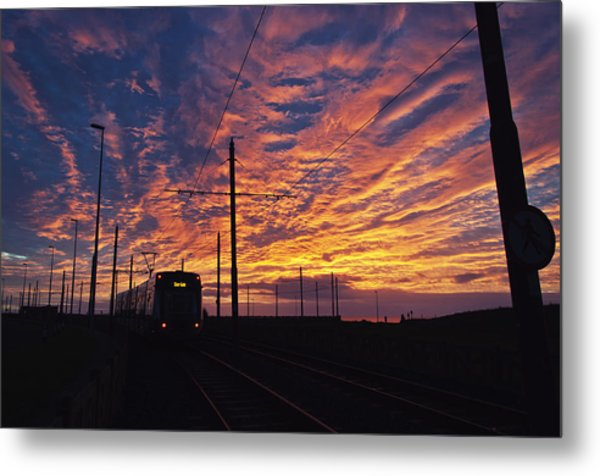 The Tram To Star Gate Metal Print