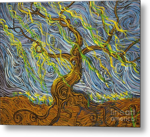 The Tree Have Eyes Metal Print