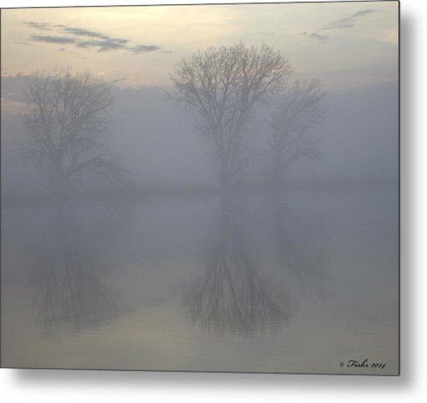 The Trees Of Avalon Metal Print