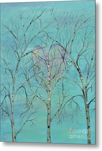 The Trees Speak To Me In Whispers Metal Print