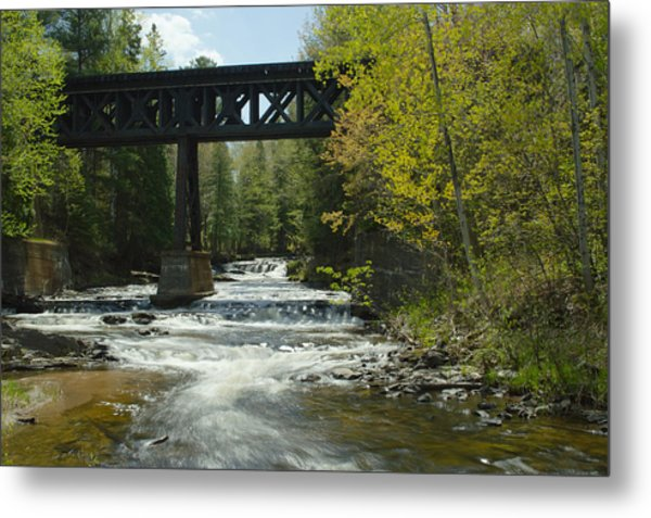 The Trestle Metal Print