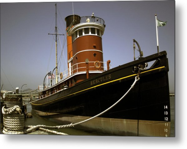 The Tug Boat Hercules Metal Print