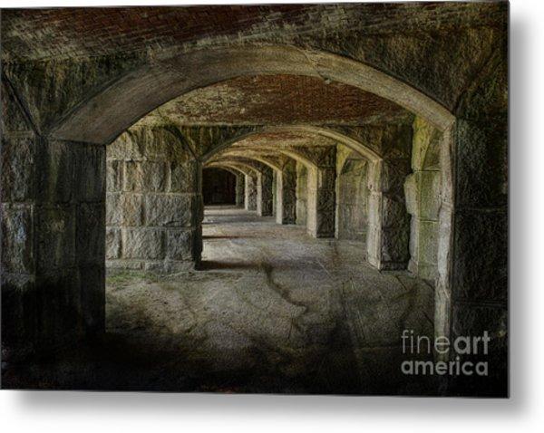 The Tunnels Metal Print