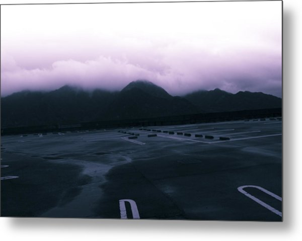 The Typhoon Before The Storm Metal Print by Maia Rose