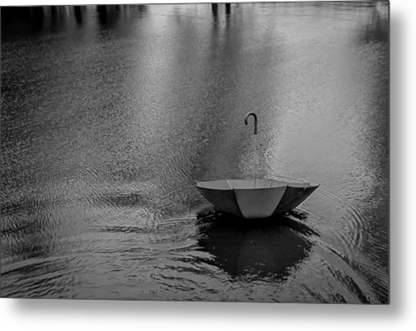 The Umbrella Metal Print