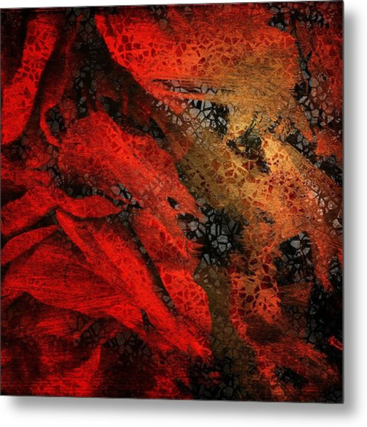 The Underlying Net Metal Print by Gun Legler