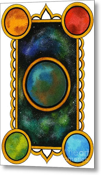 The Universe Metal Print by Nora Blansett