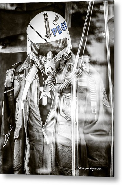 The U.s Airman Metal Print