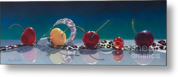 The Usual Suspects Metal Print by Arlene Steinberg