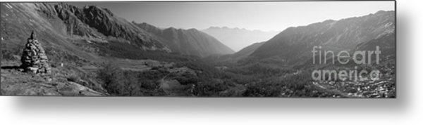 The Valley And The Rocks Metal Print by Marco Affini