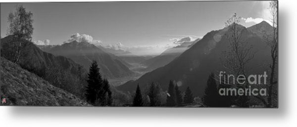 The Valley Metal Print by Marco Affini