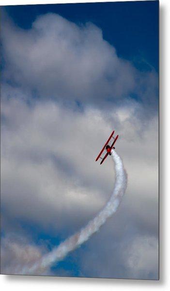 The Vapor Trail Metal Print