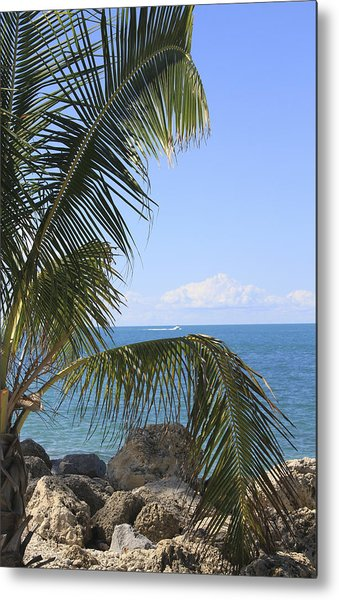 Key West Ocean View Metal Print