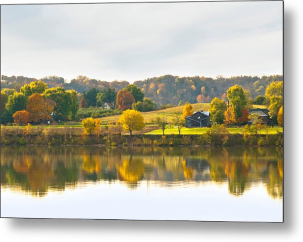The View From Rabbit Hash Metal Print by Jeanne Sheridan