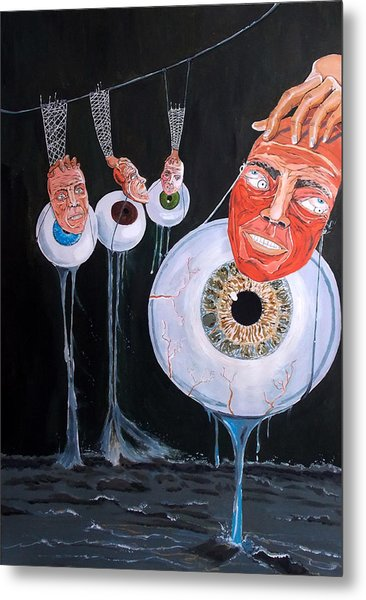The Vision Behind The Structure Behind The Eyes Metal Print