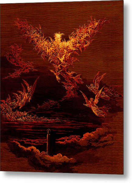 The Vision Of The Sixth Heaven Metal Print