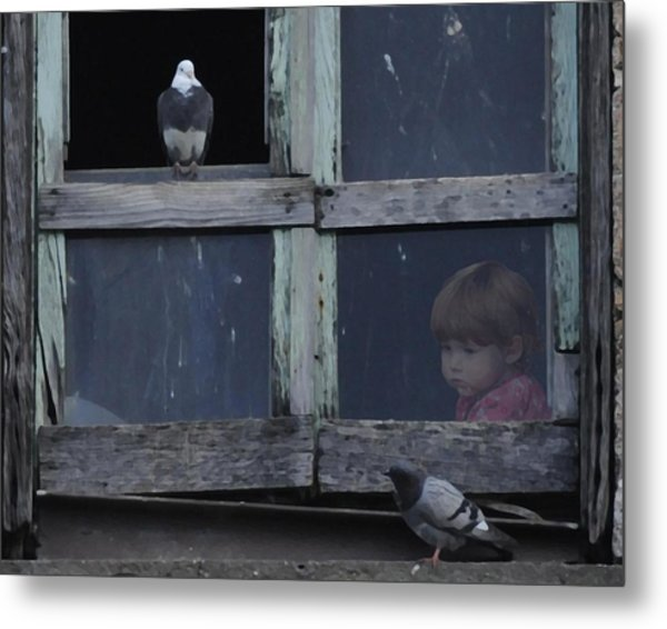 The Visitors Metal Print