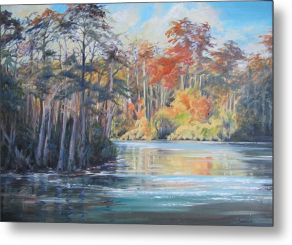 The Waccamaw At Bucksport Metal Print