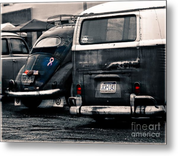 The Wagens  Metal Print by Steven Digman