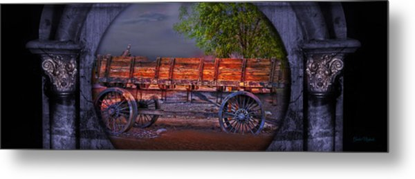 The Wagon Metal Print
