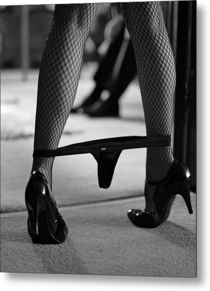 The Waiting Game Metal Print