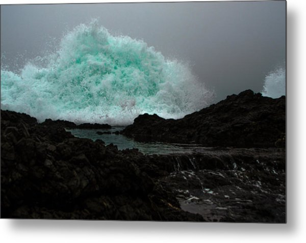 The Wall Series Frame 3 Full Res Metal Print