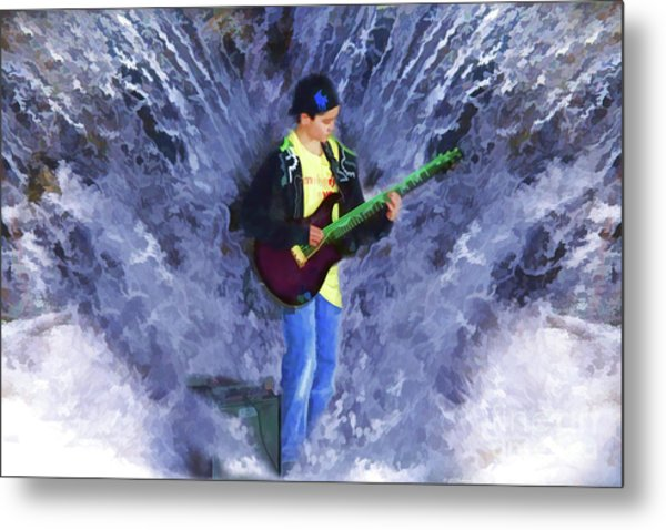 The Water Gig Metal Print