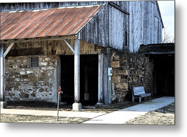 The Water Pump Metal Print