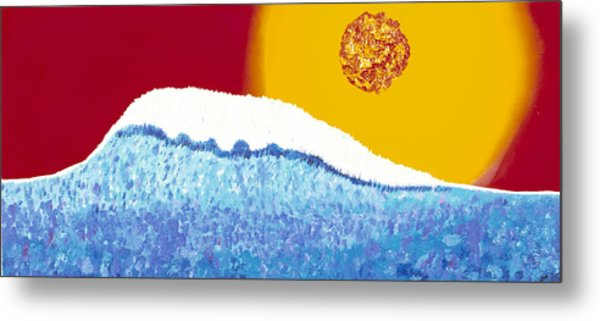 The Wave Metal Print by Patrick OLeary