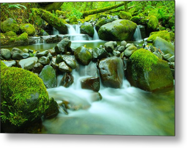 The Way Of Healing Water  Metal Print
