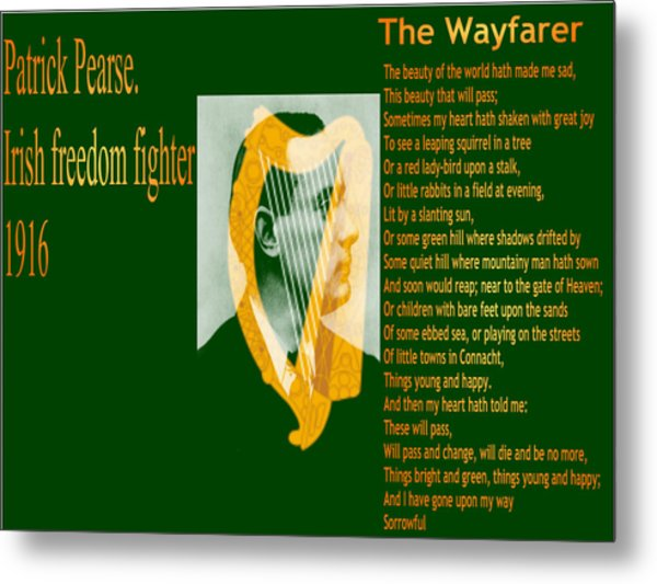The Wayfarer Metal Print