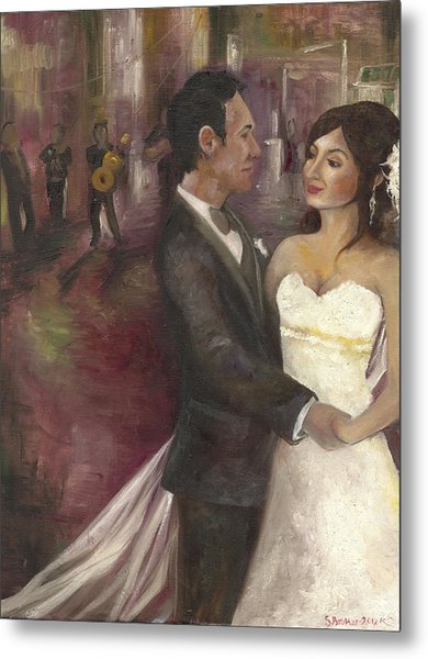 The Wedding Metal Print