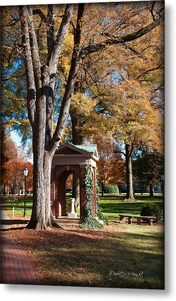 The Well - Davidson College Metal Print