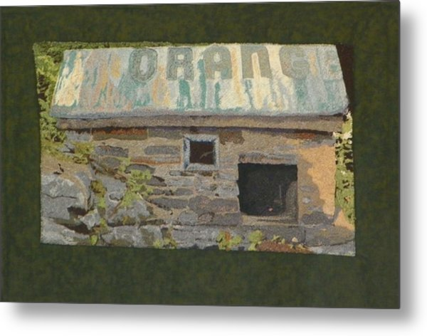 The Well House  Metal Print