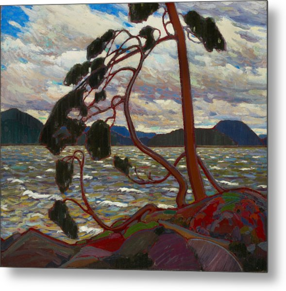 The West Wind Metal Print