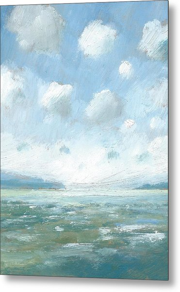 The Western Solent Part One Metal Print by Alan Daysh