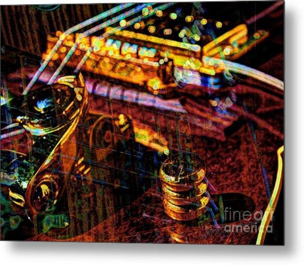 The Whammy Digital Guitar Art By Steven Langston Metal Print by Steven Lebron Langston