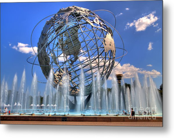 The Whole World In My Hands Metal Print