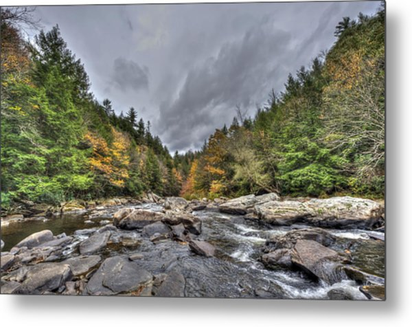The Wild River Metal Print