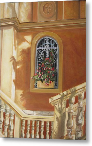 The Window Box Metal Print