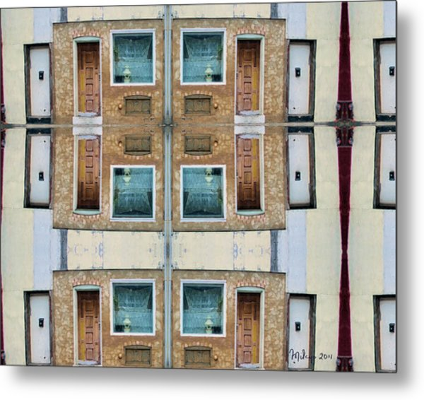 The Windows Of The Soul  Metal Print
