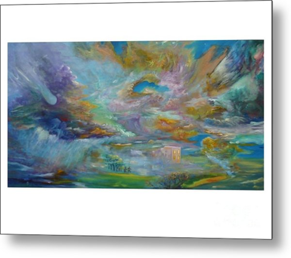 The Winds Of Changes Shift Metal Print