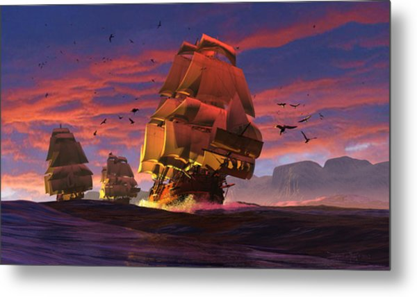 The Winds Of Triton Metal Print