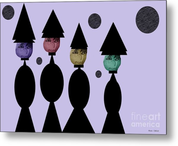The Witch Club Metal Print