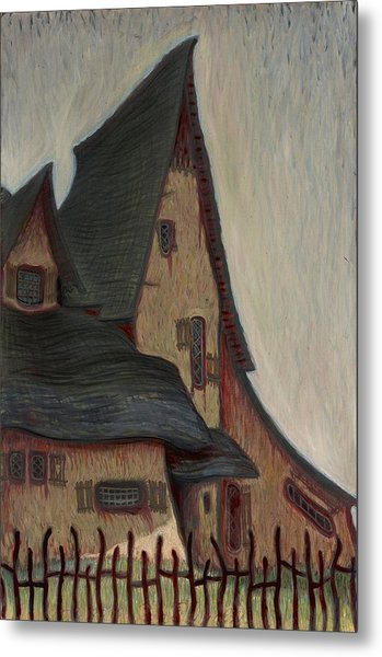 The  Witches House  Metal Print